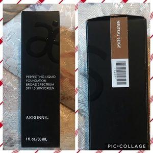 Arbonne perfecting liquid foundation